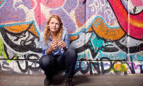 'I thought I'd never be accepted by the literary establishment': Kate Tempest photographed at the So